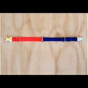 Two tone Nylon Collar - Small